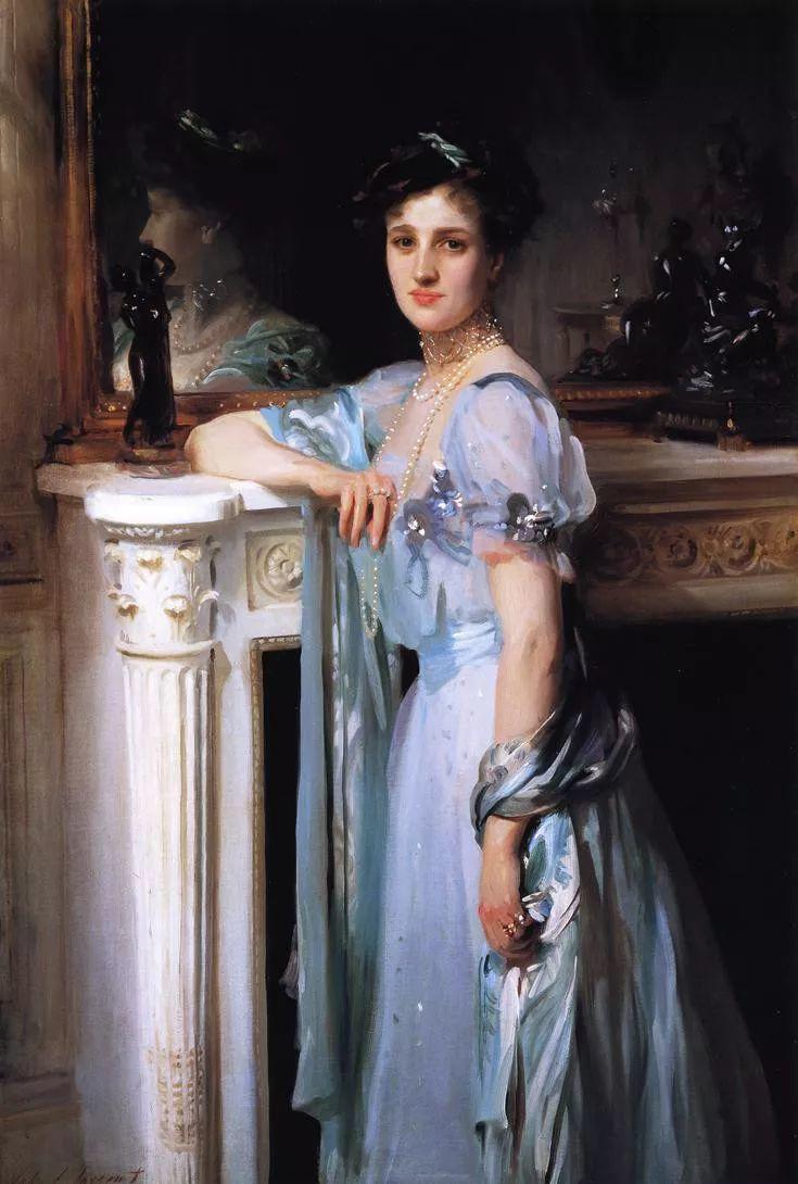 美John Singer Sargent肖像油画欣赏二插图41