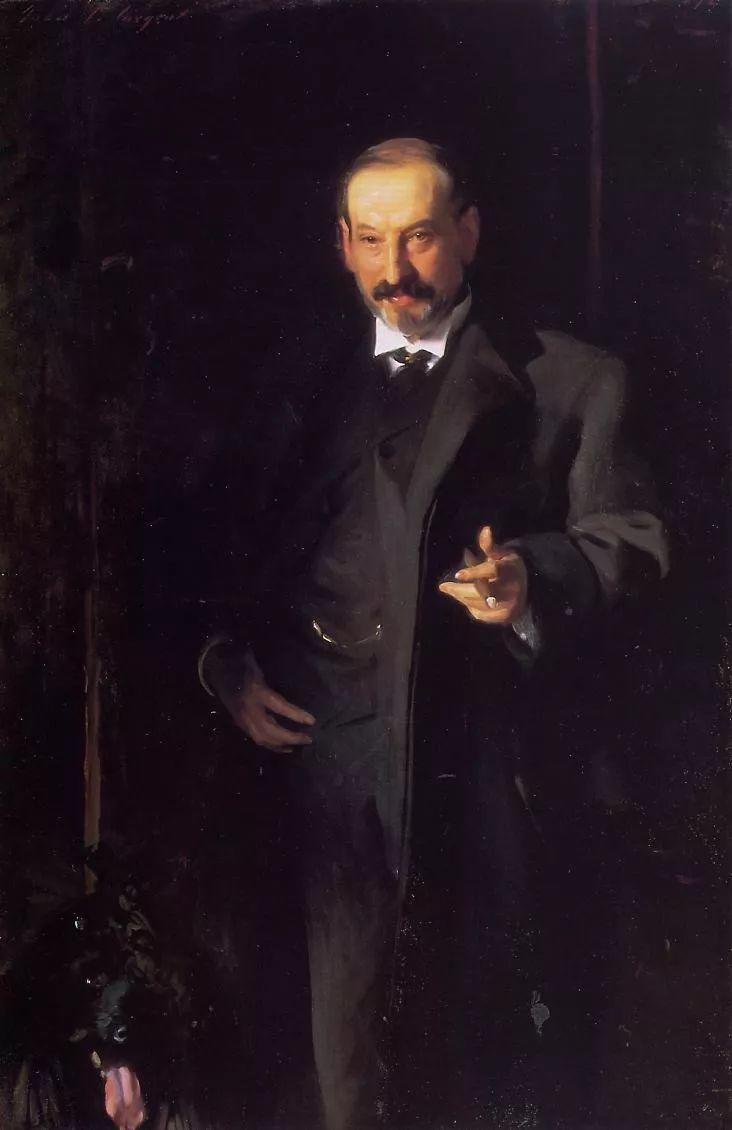 美John Singer Sargent肖像油画欣赏二插图45