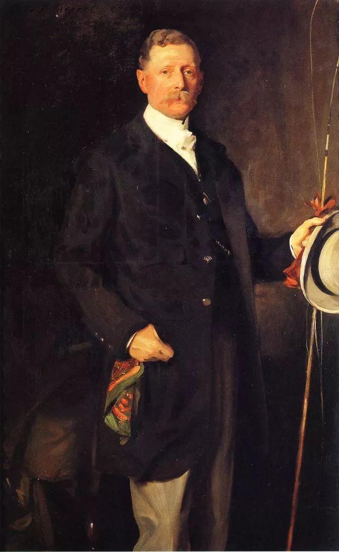 美John Singer Sargent肖像油画欣赏二插图47