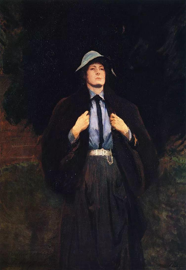 美John Singer Sargent肖像油画欣赏二插图49