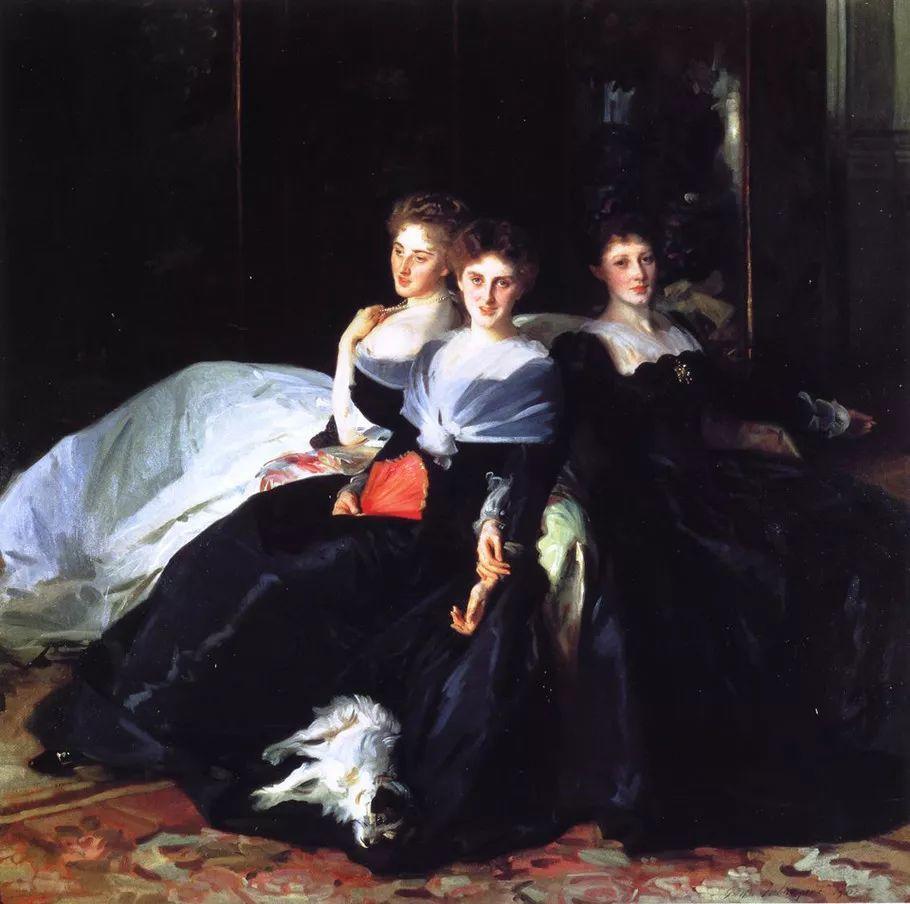 美John Singer Sargent肖像油画欣赏二插图53
