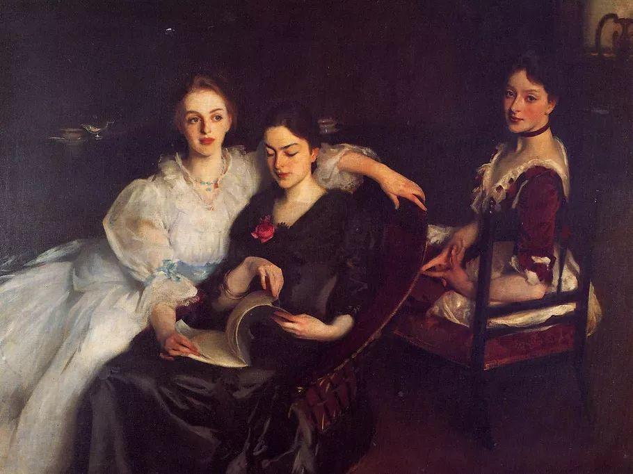美John Singer Sargent肖像油画欣赏二插图55