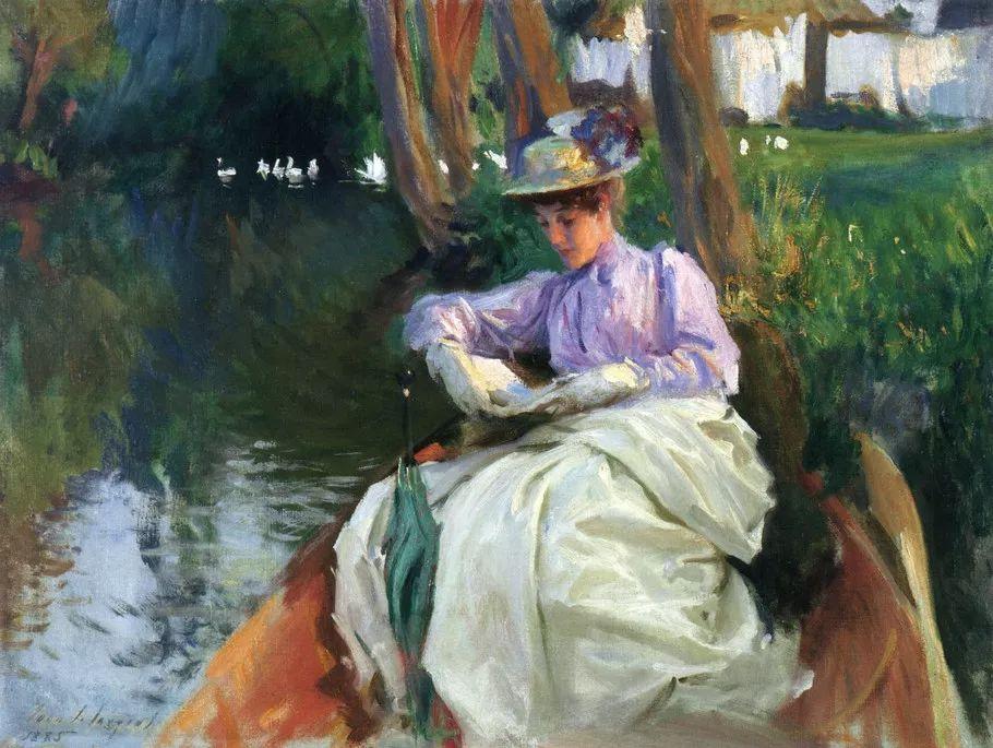美John Singer Sargent肖像油画欣赏二插图57
