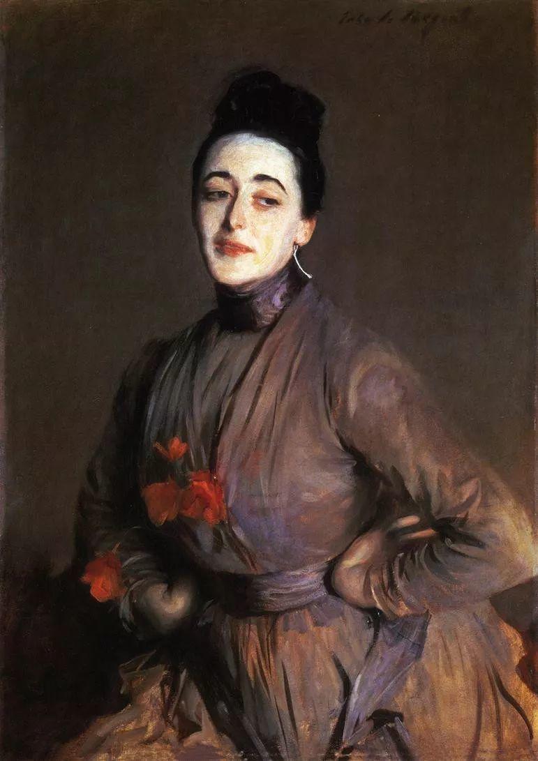 美John Singer Sargent肖像油画欣赏二插图61