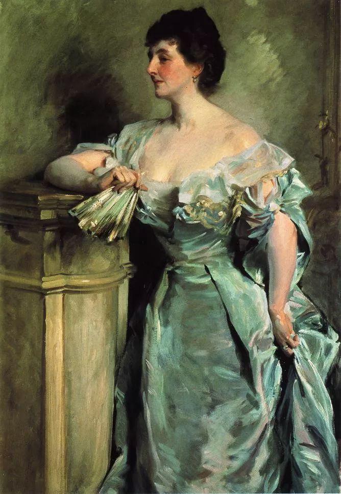 美John Singer Sargent肖像油画欣赏二插图65