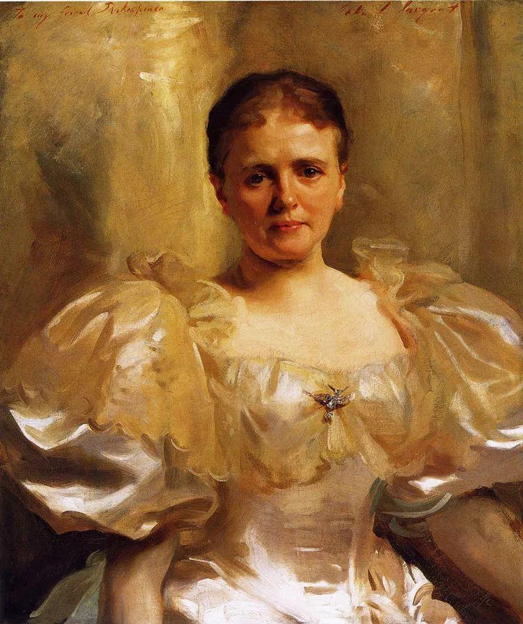 美John Singer Sargent肖像油画欣赏二插图67