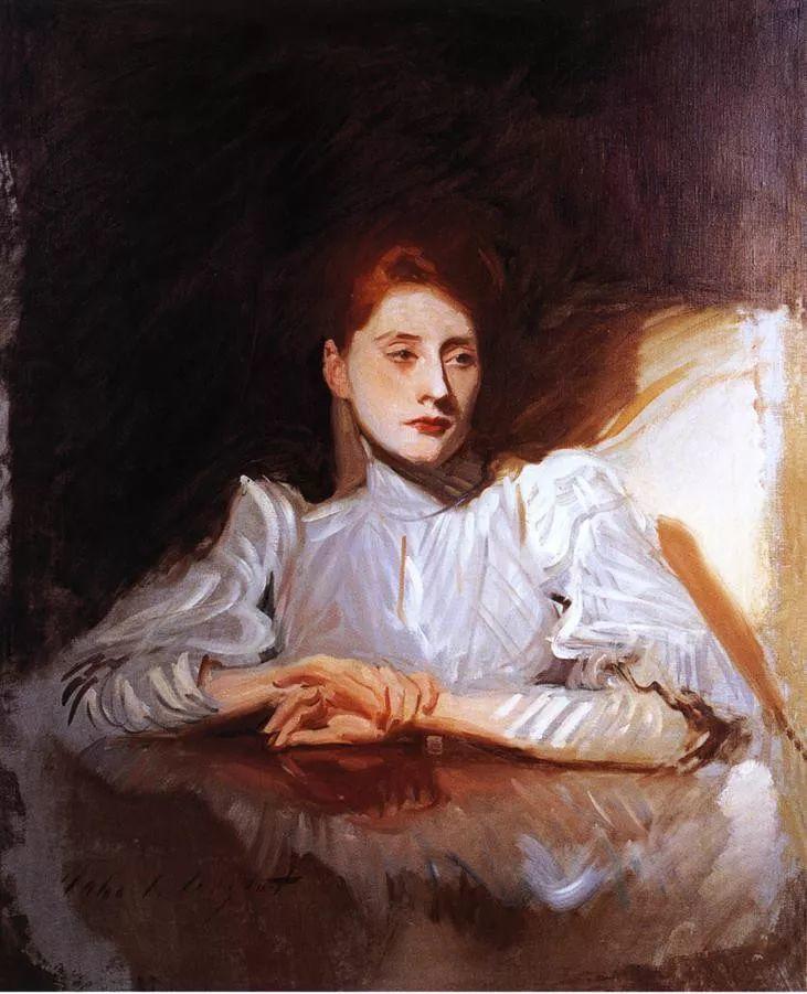 美John Singer Sargent肖像油画欣赏二插图69