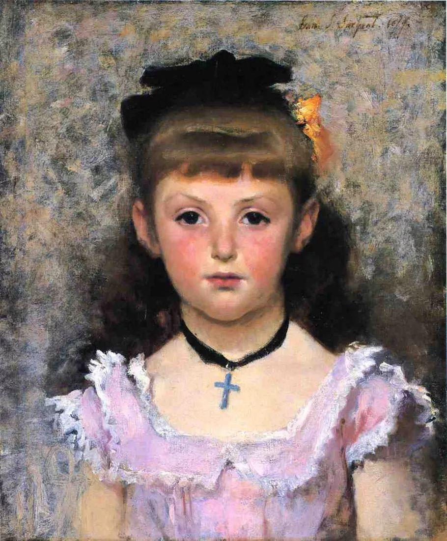 美John Singer Sargent肖像油画欣赏二插图73