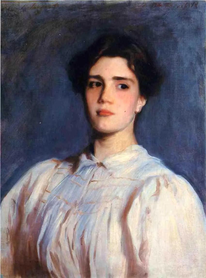 美John Singer Sargent肖像油画欣赏二插图75