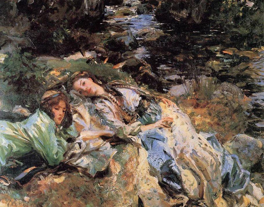 美John Singer Sargent肖像油画欣赏二插图81