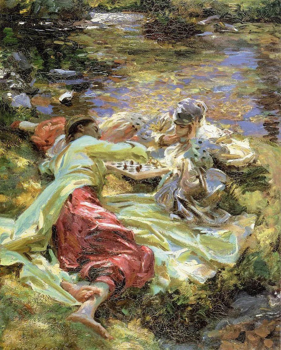 美John Singer Sargent肖像油画欣赏二插图83