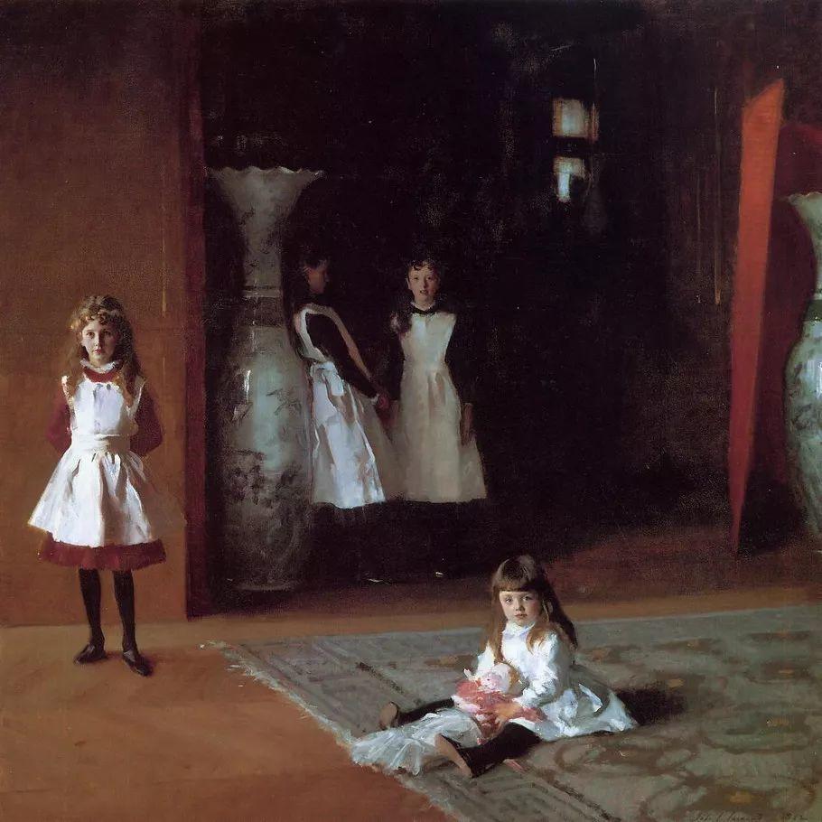 美John Singer Sargent肖像油画欣赏二插图85