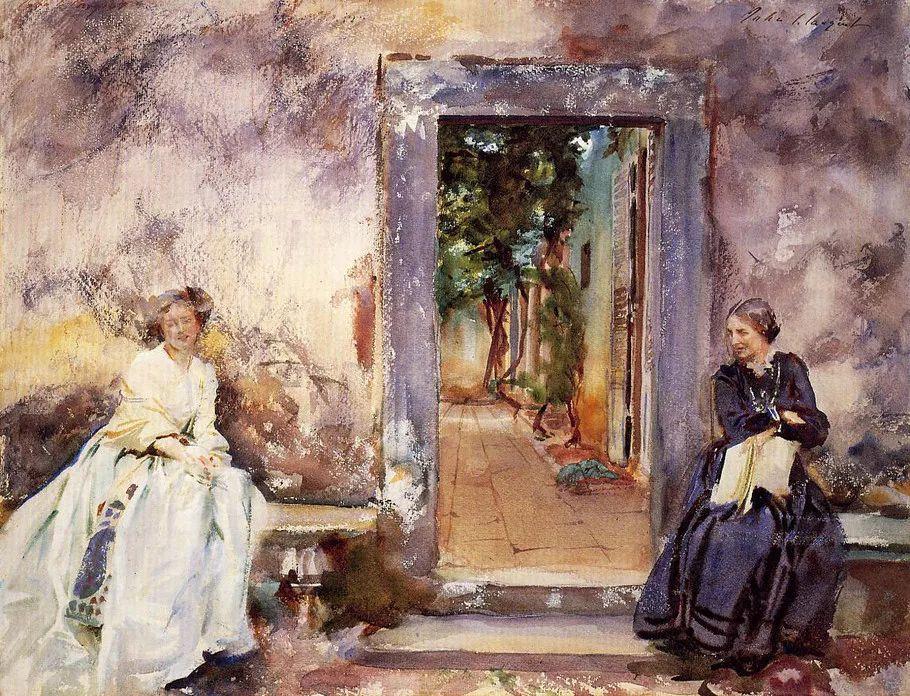 美John Singer Sargent肖像油画欣赏二插图87