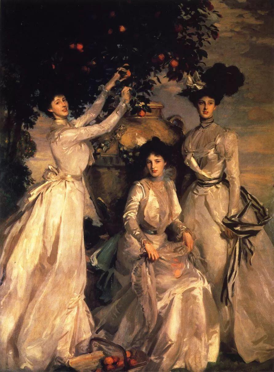 美John Singer Sargent肖像油画欣赏二插图89