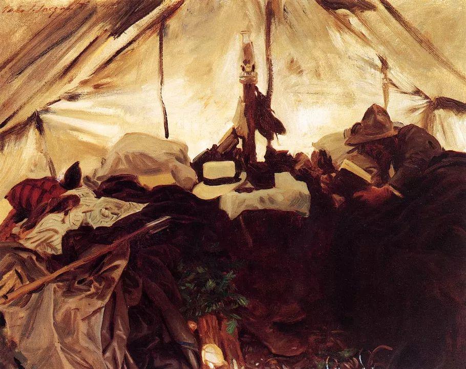 美John Singer Sargent肖像油画欣赏二插图91