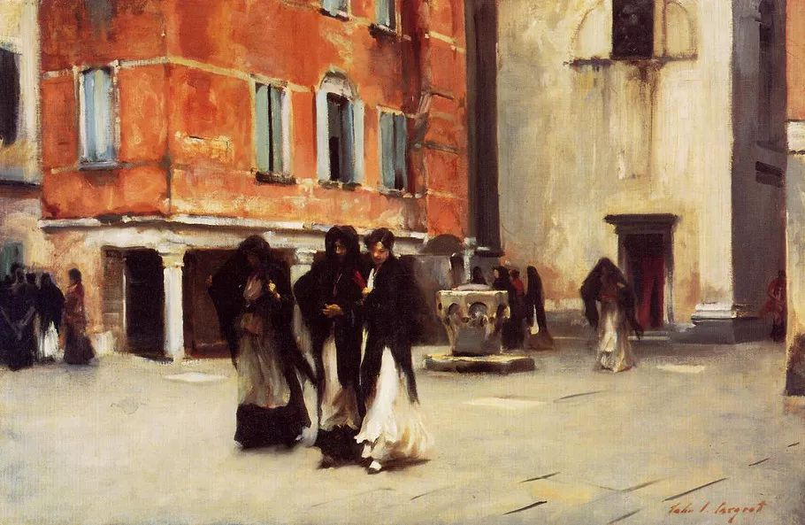 美John Singer Sargent肖像油画欣赏二插图93