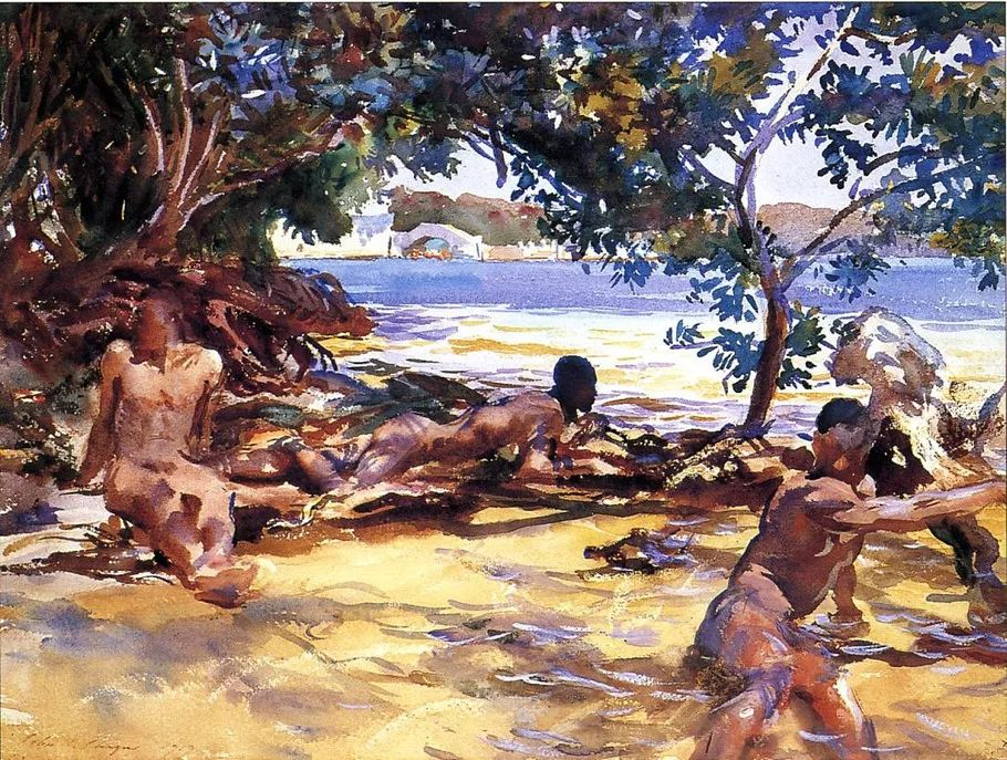 美John Singer Sargent肖像油画欣赏二插图97