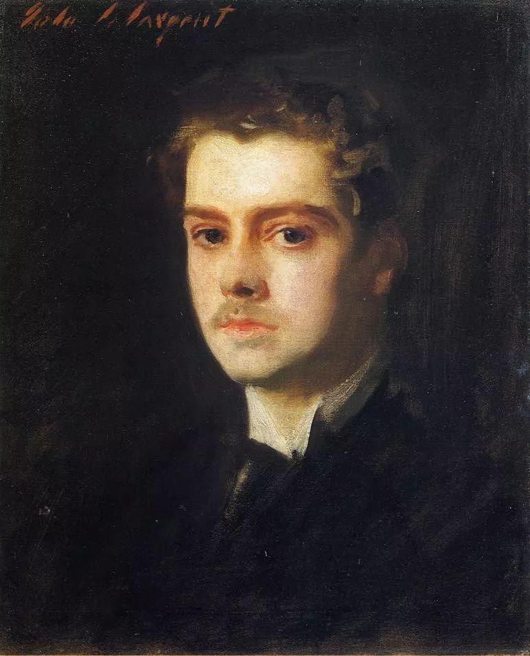 美John Singer Sargent肖像油画欣赏二插图105