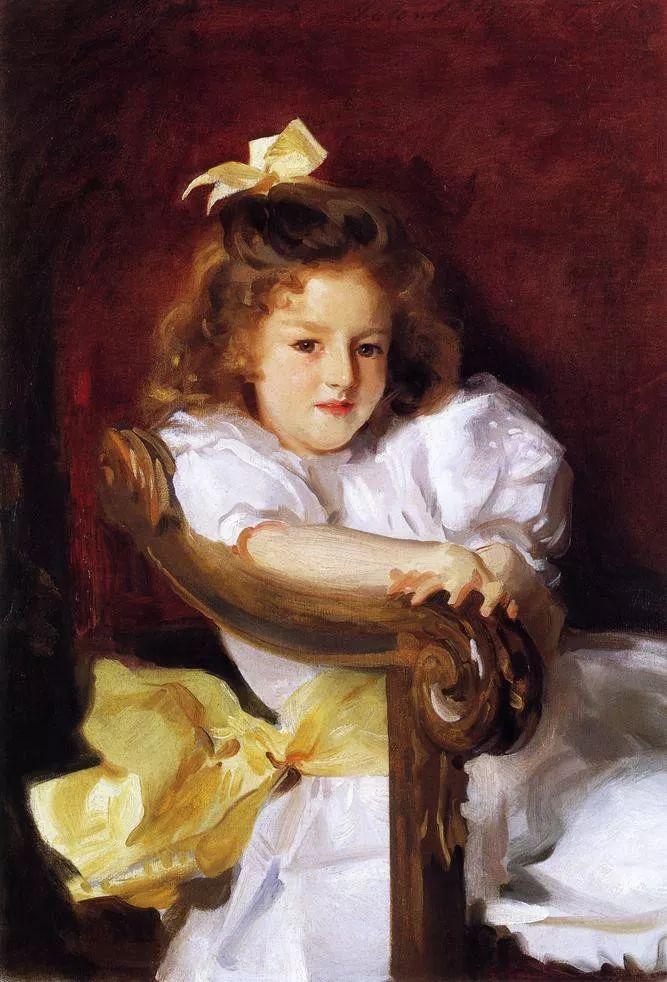 美John Singer Sargent肖像油画欣赏二插图107