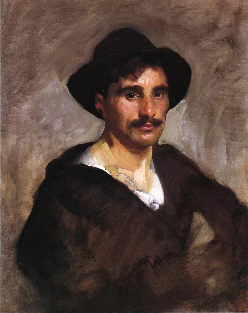 美John Singer Sargent肖像油画欣赏二插图111