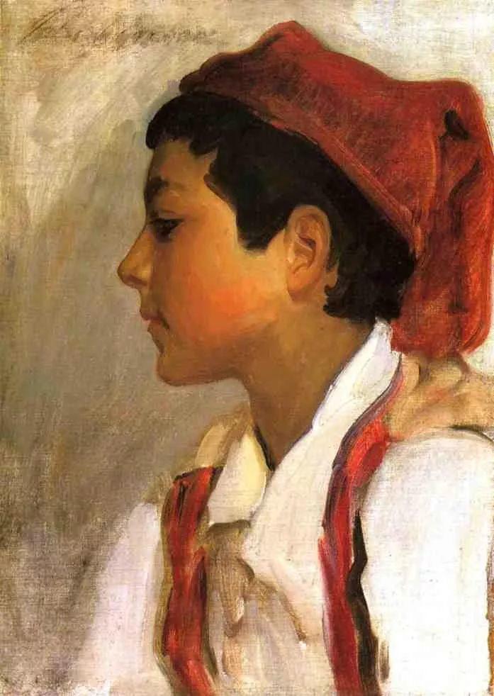 美John Singer Sargent肖像油画欣赏二插图113