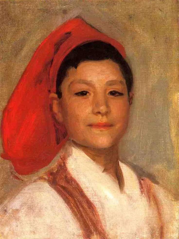 美John Singer Sargent肖像油画欣赏二插图115