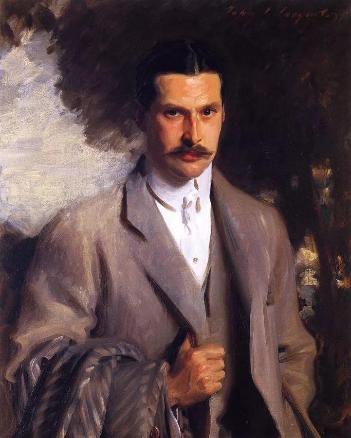 美John Singer Sargent肖像油画欣赏二插图117