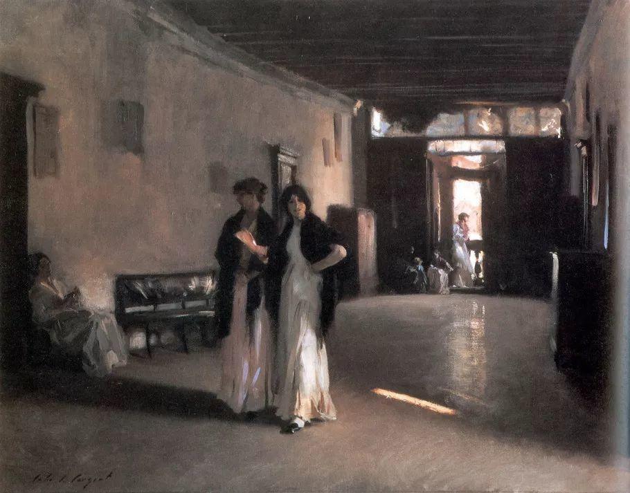 美John Singer Sargent肖像油画欣赏二插图119