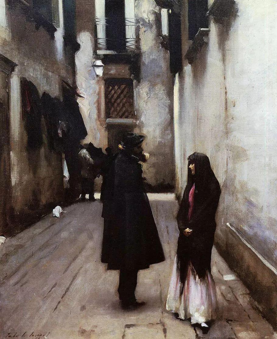 美John Singer Sargent肖像油画欣赏二插图121
