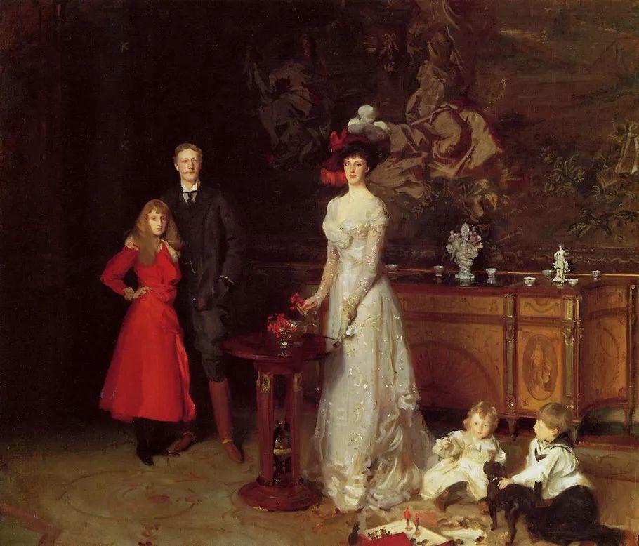美John Singer Sargent肖像油画欣赏二插图125