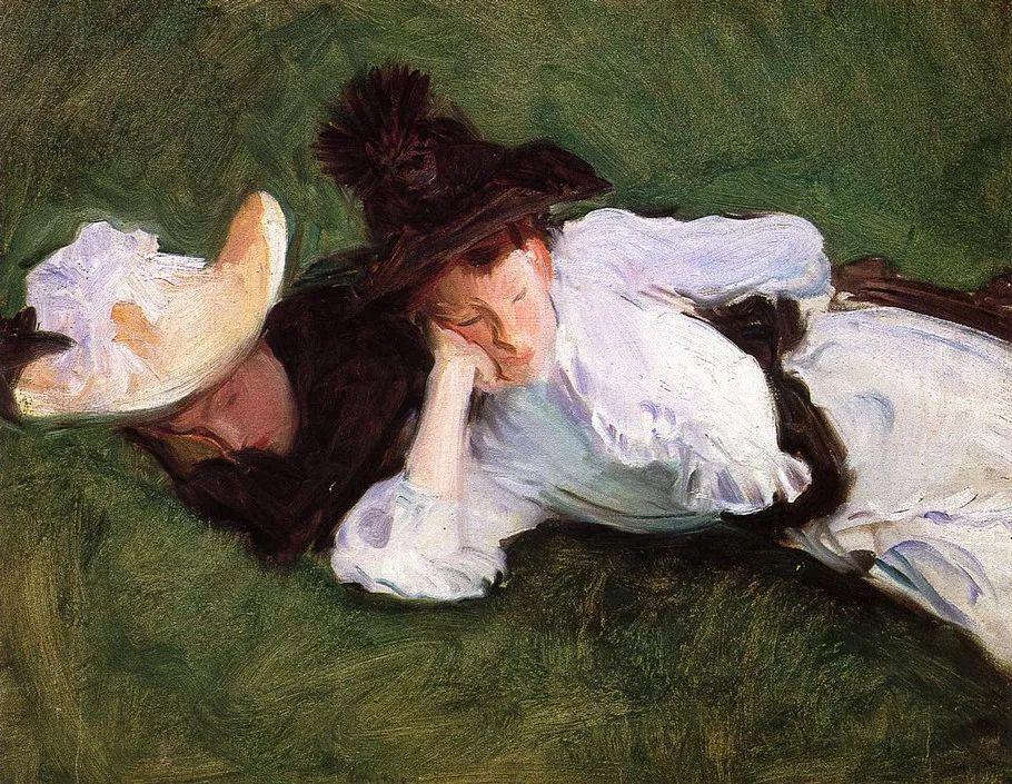 美John Singer Sargent肖像油画欣赏二插图129