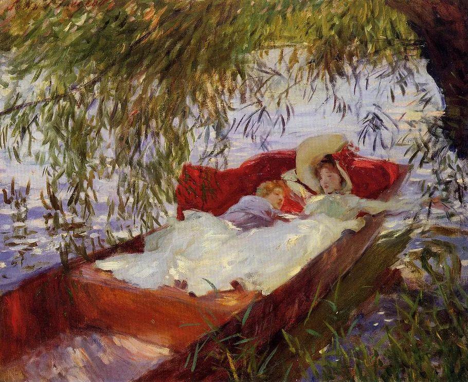 美John Singer Sargent肖像油画欣赏二插图131