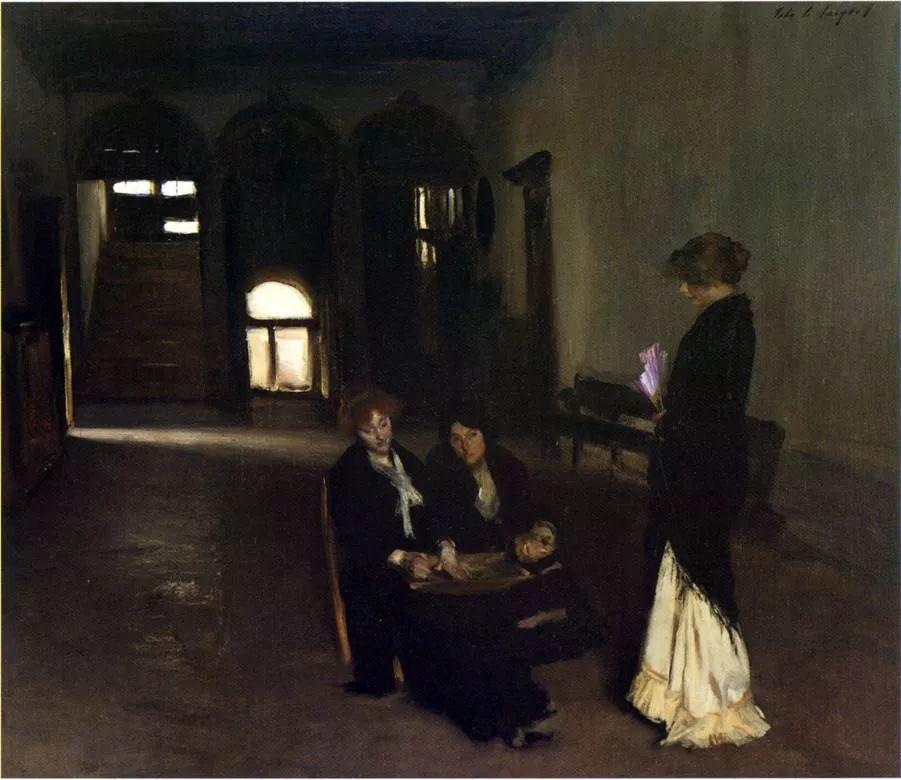 美John Singer Sargent肖像油画欣赏二插图135