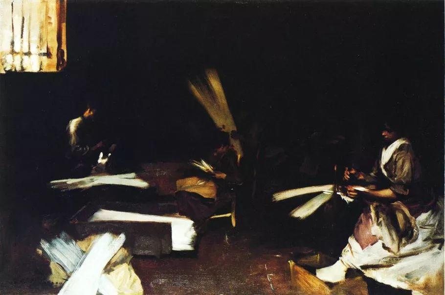 美John Singer Sargent肖像油画欣赏二插图137