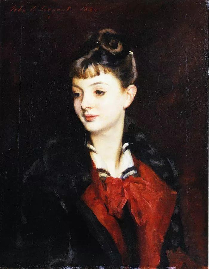 美John Singer Sargent肖像油画欣赏二插图139