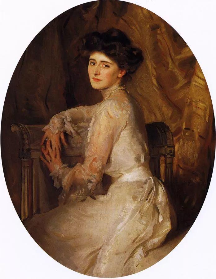 美John Singer Sargent肖像油画欣赏二插图141