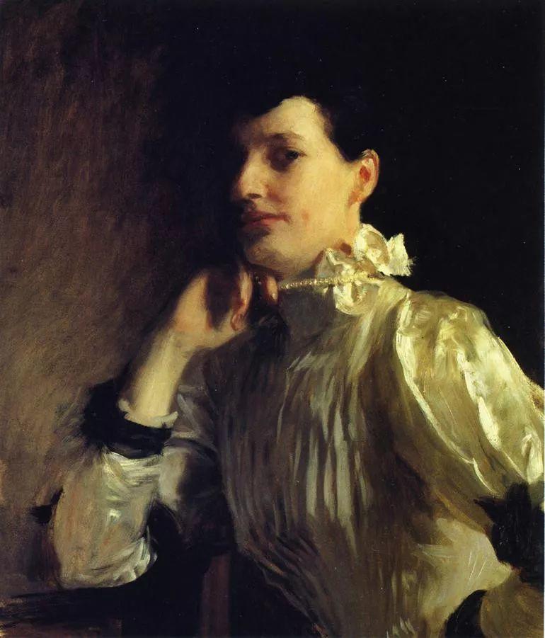 美John Singer Sargent肖像油画欣赏二插图147