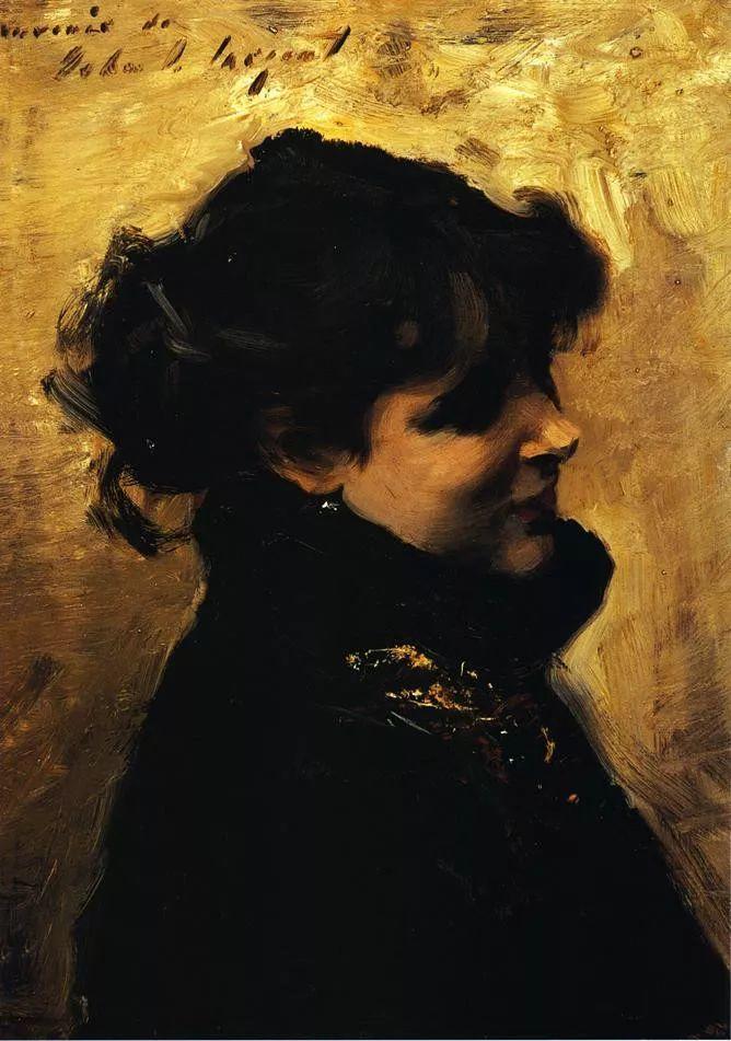 美John Singer Sargent肖像油画欣赏二插图149