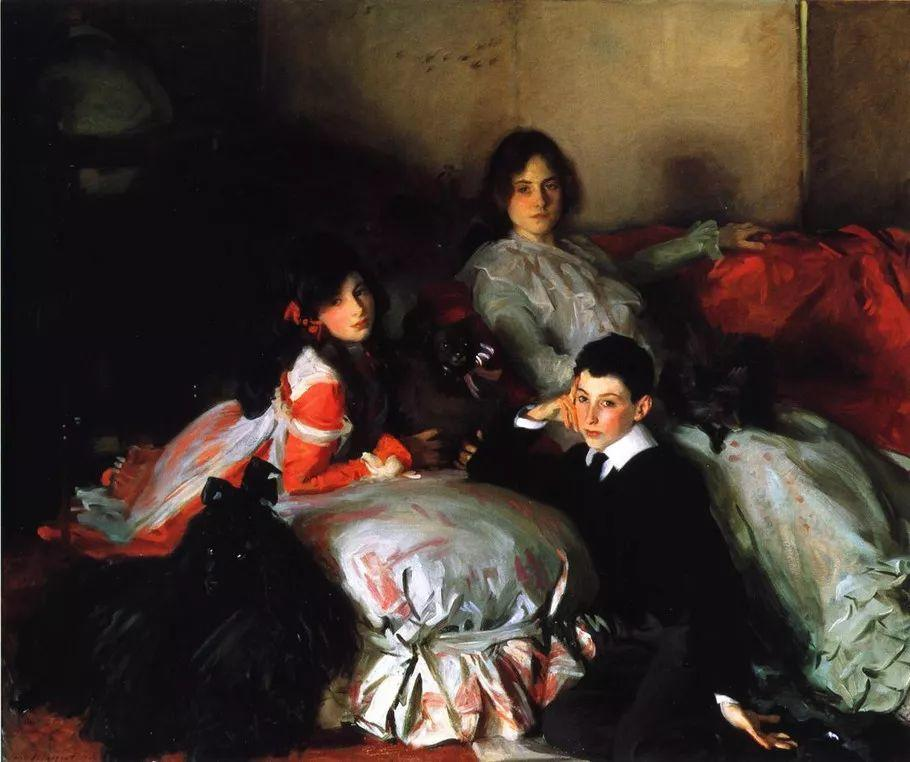 美John Singer Sargent肖像油画欣赏二插图159