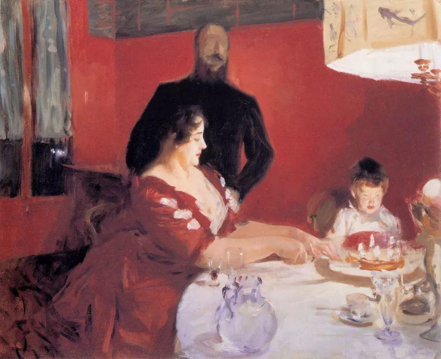 美John Singer Sargent肖像油画欣赏二插图161