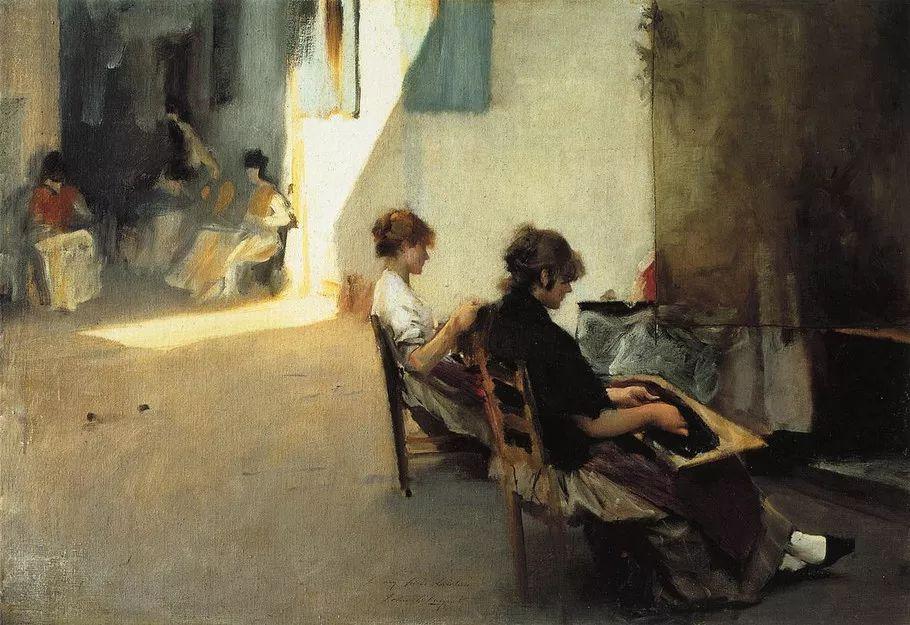 美John Singer Sargent肖像油画欣赏二插图163