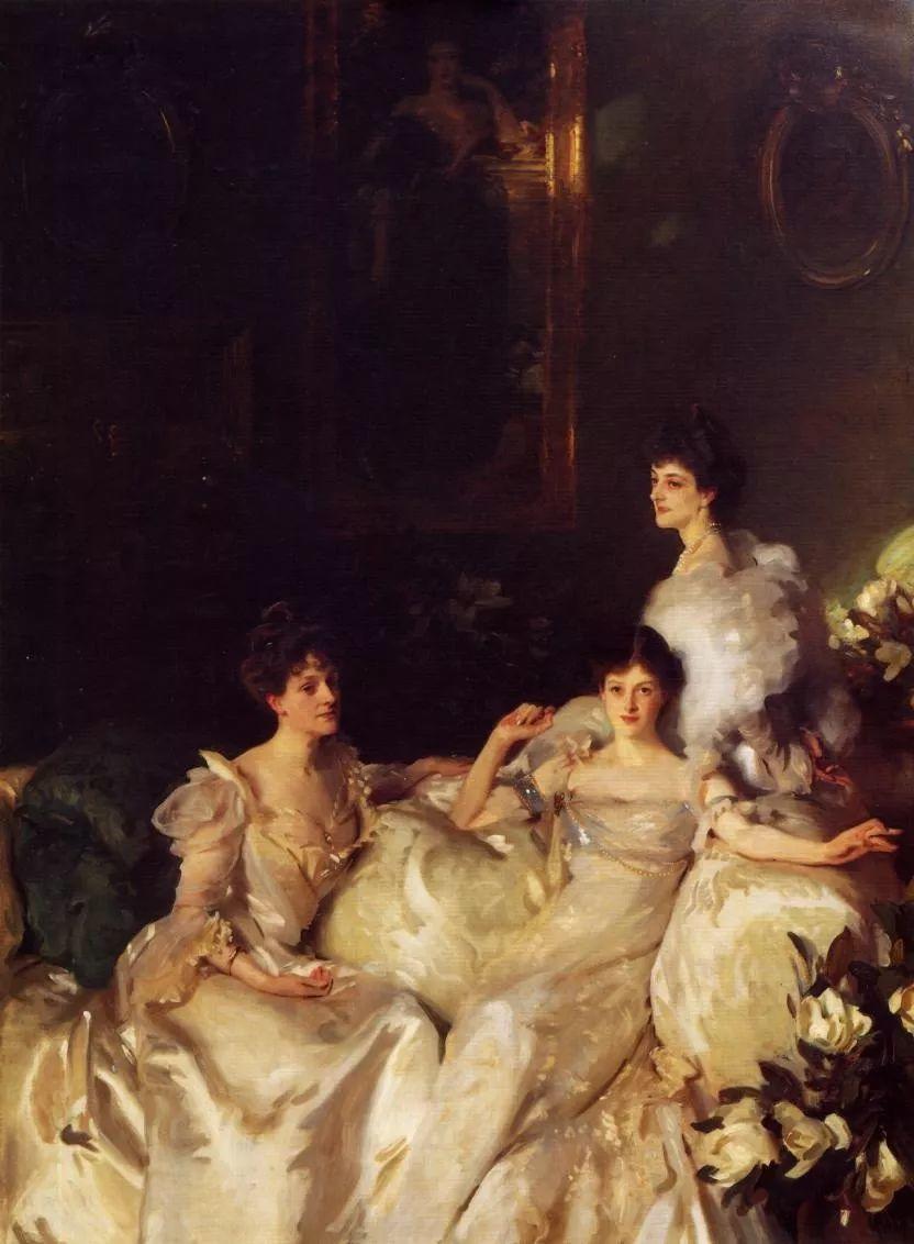 美John Singer Sargent肖像油画欣赏二插图167