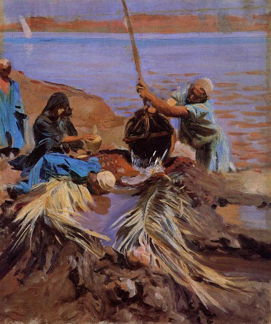 美John Singer Sargent肖像油画欣赏二插图171