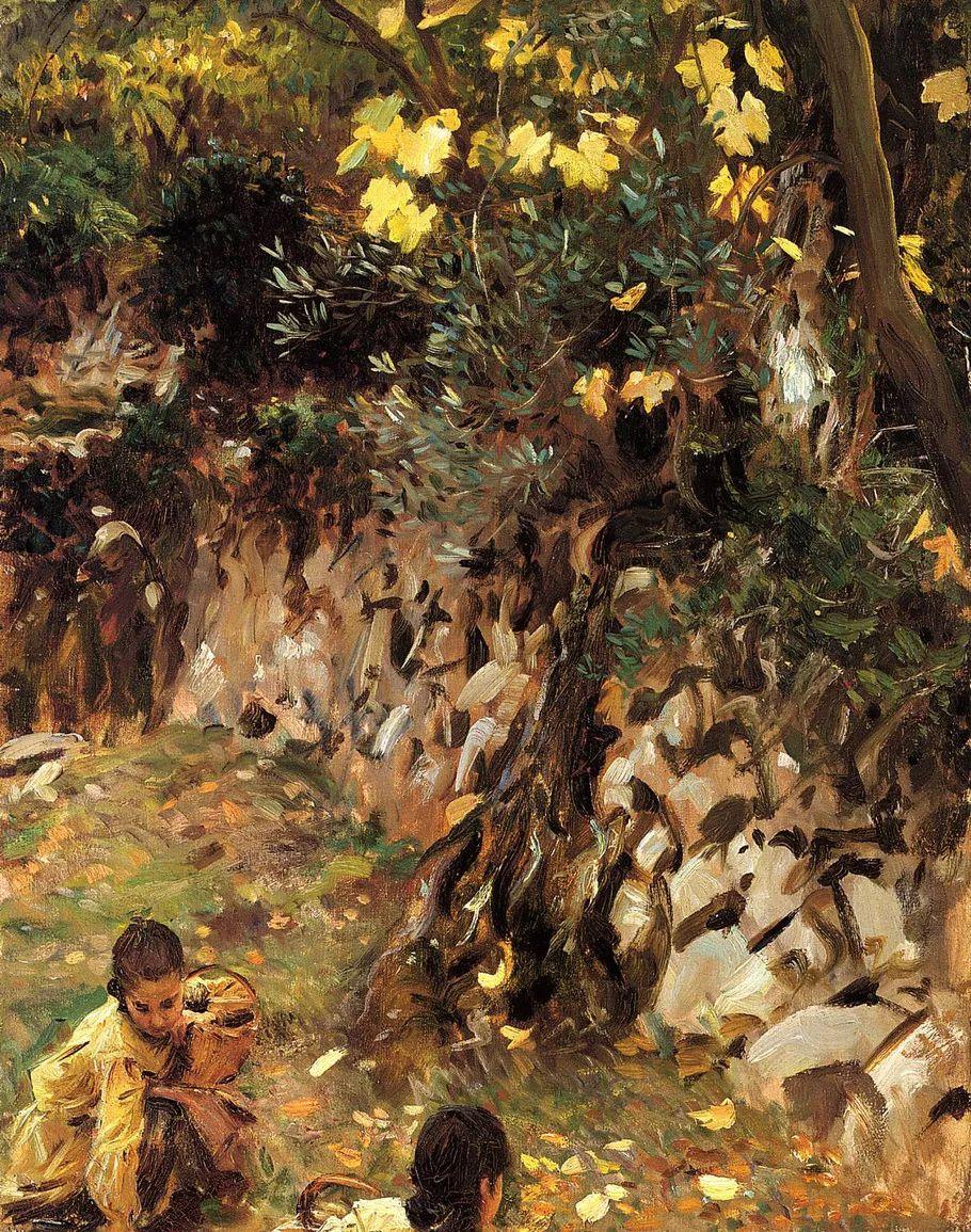 美John Singer Sargent肖像油画欣赏二插图173