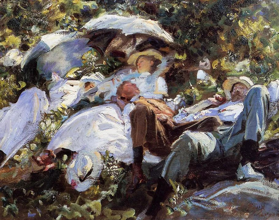 美John Singer Sargent肖像油画欣赏二插图175