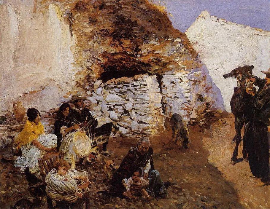 美John Singer Sargent肖像油画欣赏二插图177