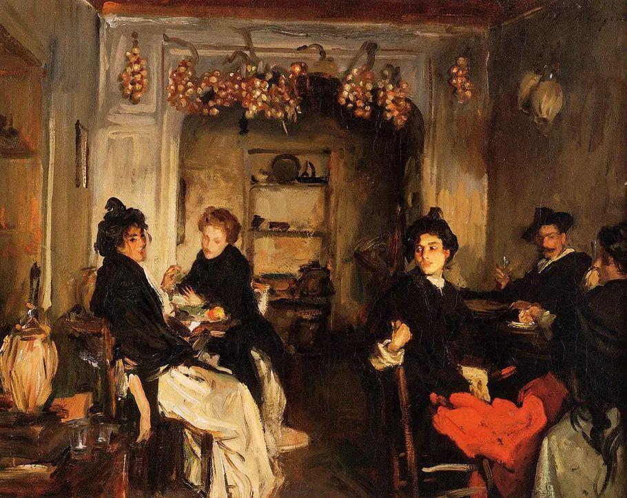 美John Singer Sargent肖像油画欣赏二插图179