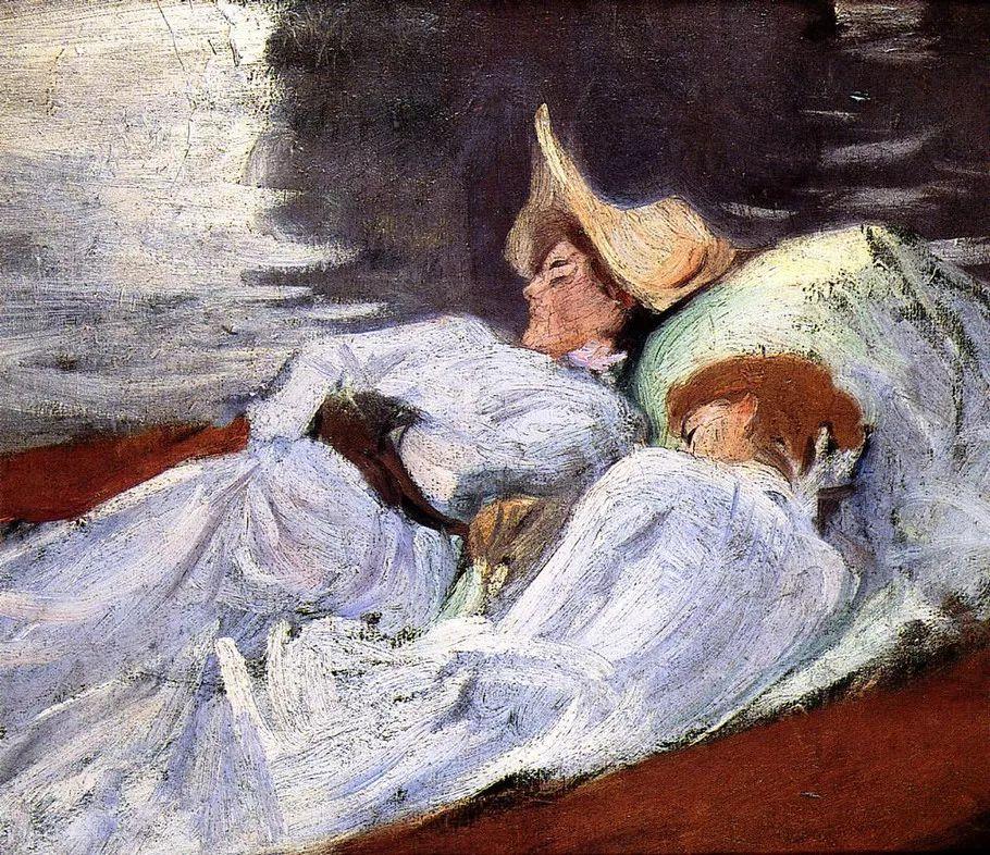 美John Singer Sargent肖像油画欣赏二插图181
