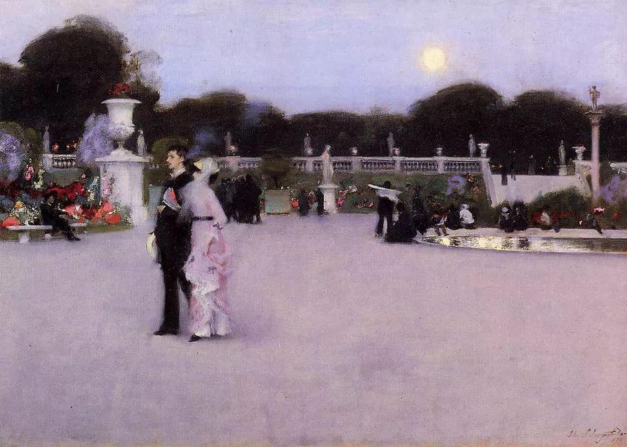 美John Singer Sargent肖像油画欣赏二插图183