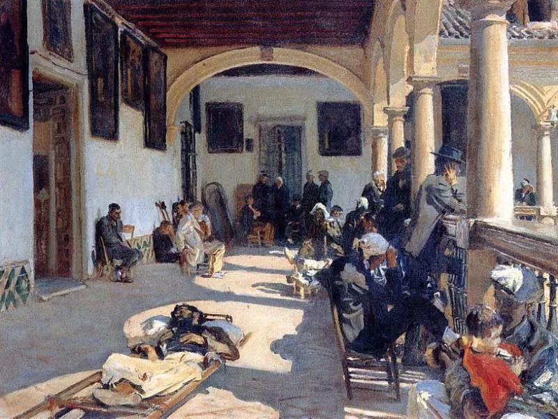 美John Singer Sargent肖像油画欣赏二插图185
